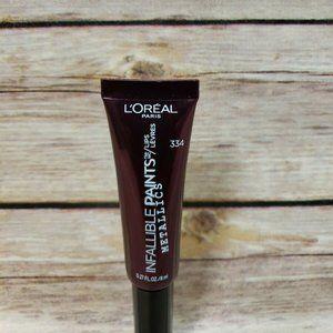 Loreal Infallible Paints Lips Smoldering Eclipse